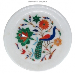 Marble Plates(Inlay Work & Painted)
